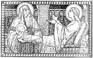 Anniversaire de la Sainte Vierge, le 8 septembre.